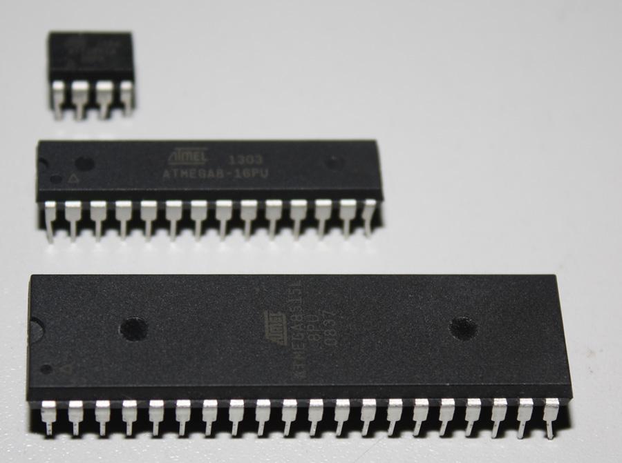 AVR-Serie: ATTINY13, ATmega8 und ATmega8515