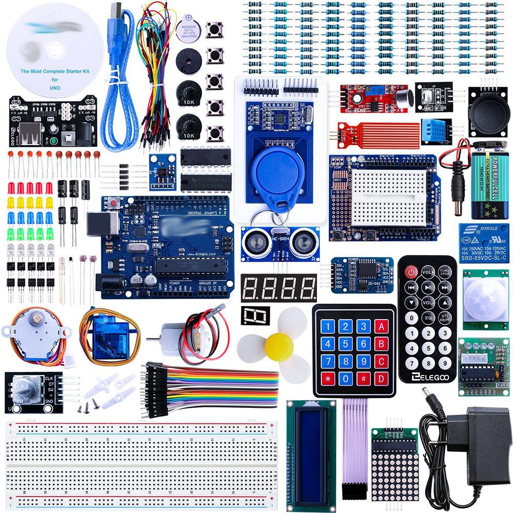 Arduino-Zubehör für Experimente mit dem Arduino
