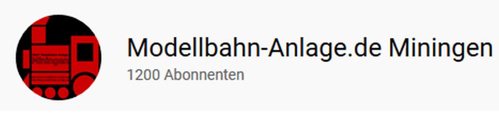 1.200 Abonnenten auf YouTube