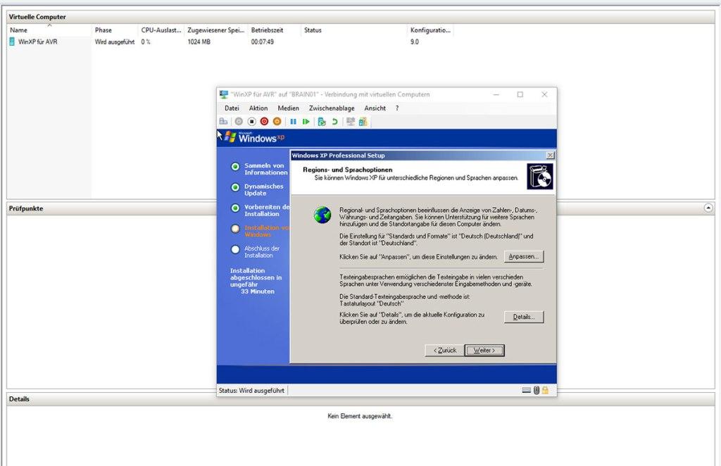 HyperVi für WinXP für die letzten AVR-Programme
