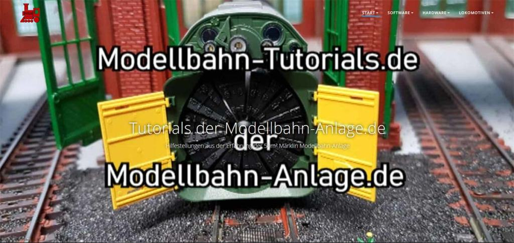 Neue Webseite: Modellbahn-Tutorials.de