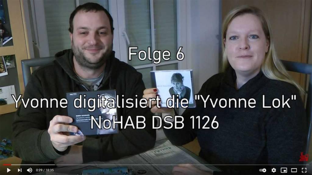 "Modellbahn Tutorial #6: Umbau der ""Yvonne Lok"" NoHAB DSB 1126 (Märklin 3174)"