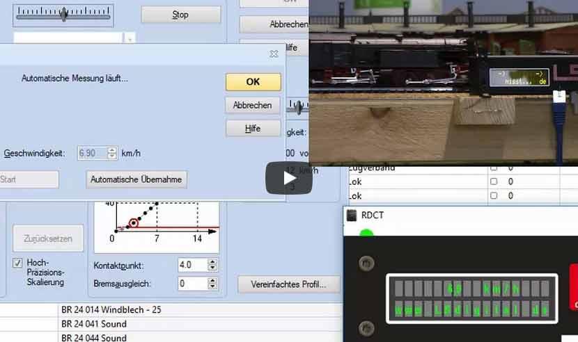 Modellbahn TrainController Tutorial: RailSpeed und TrainController 9 Gold