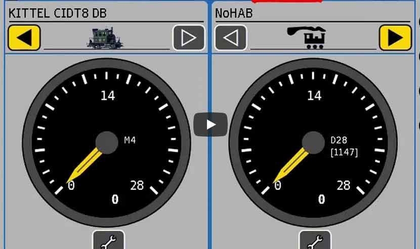 Modellbahn Tutorial: CV-Werte (bzw. Register) bei Märklin Decodern mit ESU ECoS ändern