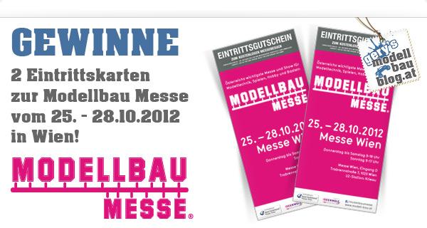 Gewinnspiel - Modellbaumesse Wien
