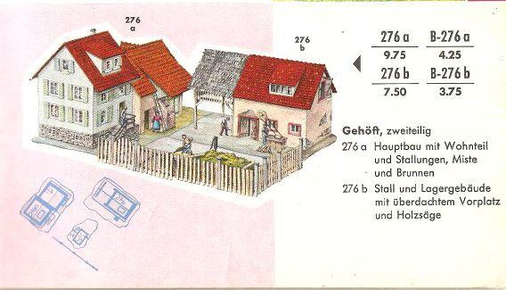 Faller Gehöft B-276a/276b