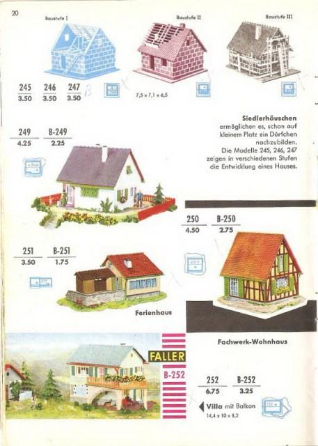 Bild Faller Katalog 60/61