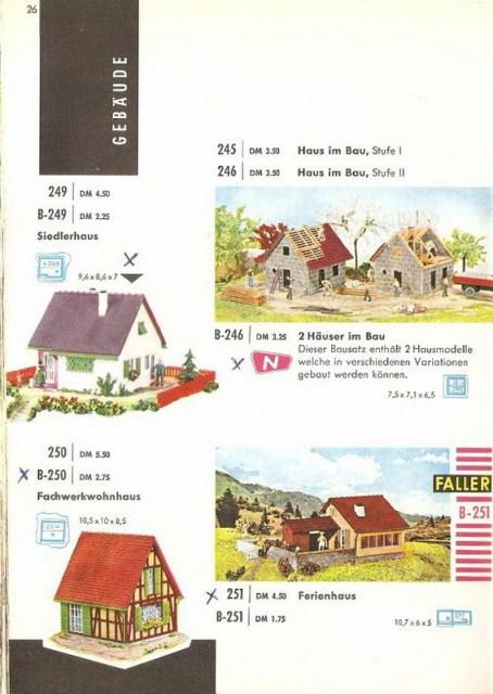 Bild Faller Katalog 61/62