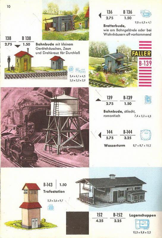 Faller Wasserturm Nr. 144/B-144
