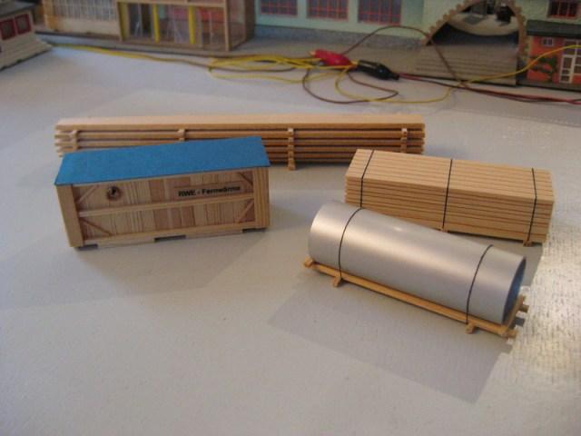 Modellbau-/-eisenbahnzubehör, Ladegut H0
