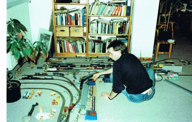 Modelleisenbahn - Wiedergeburt Nr.1