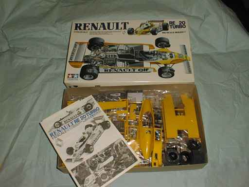 Tamiya Renault RE 20 Turbo
