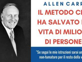 Allen Carr- il metodo che ha salvato la vita di milioni di persone