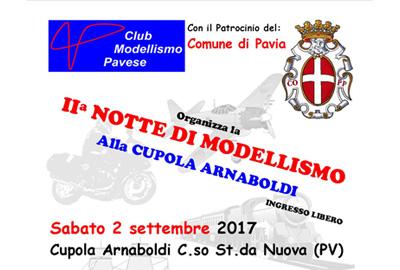Il CMP organizza la 2′ Notte di Modellismo a Pavia