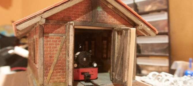 Delavnica za popravilo lokomotiv za modulno H0e maketo – 4. del