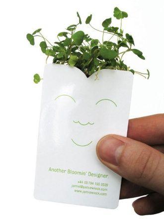 Business Card creativa para imprimir