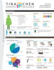 Currículum infográfico 1