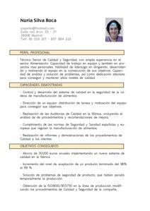 modelos de resume modelo curriculum