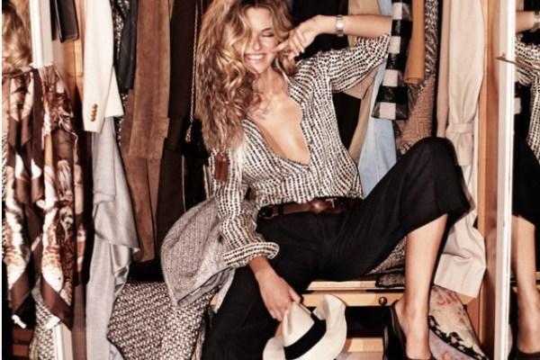 glamorous walk-in closet