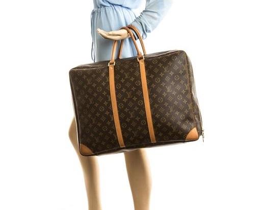 Louis Vuitton, jet set suitcases