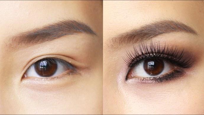 Easy Eye Makeup for Hooded or Asian Eyes - YouTube