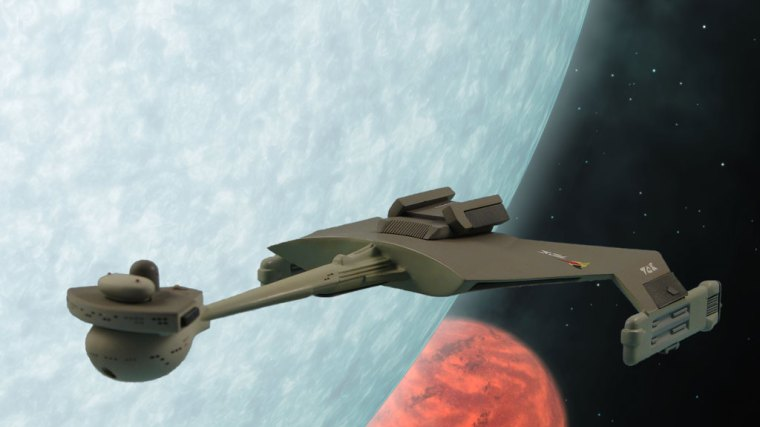 Star Trek: Klingon D7 Battle Cruiser