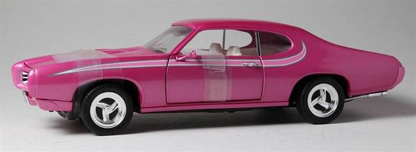 1969 PONTIAC GTO STREET MACHINE LAVENDER PEARL WHITE