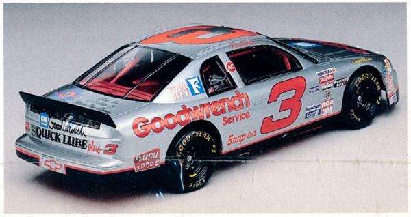 1995 Chevy Monte Carlo Silver Anniversary Dale Earnhardt