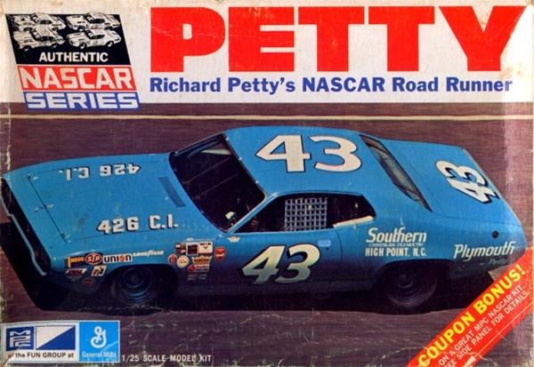 1971 Richard Petty 43 STP Plymouth Roadrunner 125