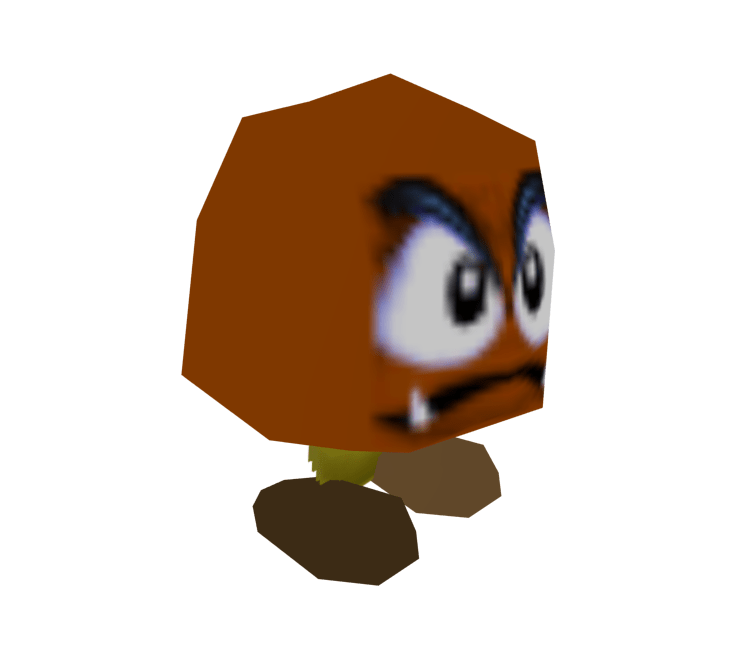 Nintendo 64 Super Mario 64 Goomba The Models Resource