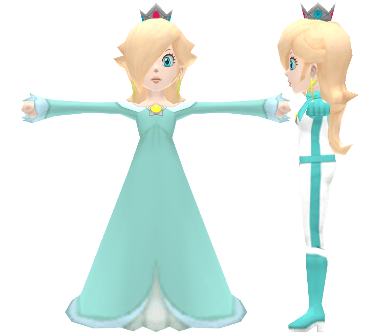 Wii Mario Kart Wii Rosalina The Models Resource
