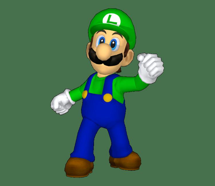 GameCube Super Smash Bros Melee Luigi Trophy Classic