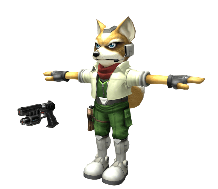 Custom Edited Super Smash Bros Brawl Project M Melee Fox The Models Resource