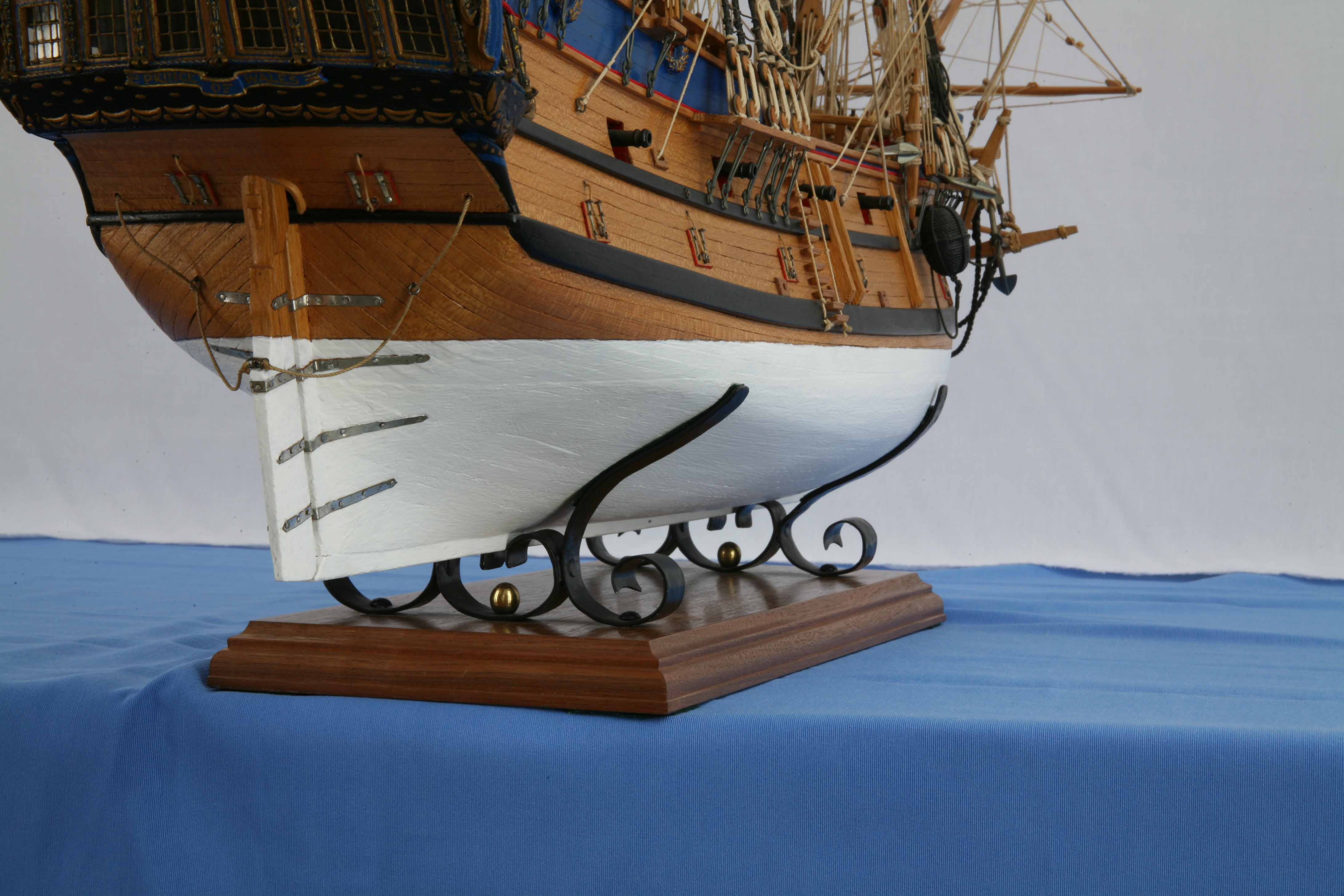 Photos Ship Model East Indiaman Prince Of Wales Of 1740