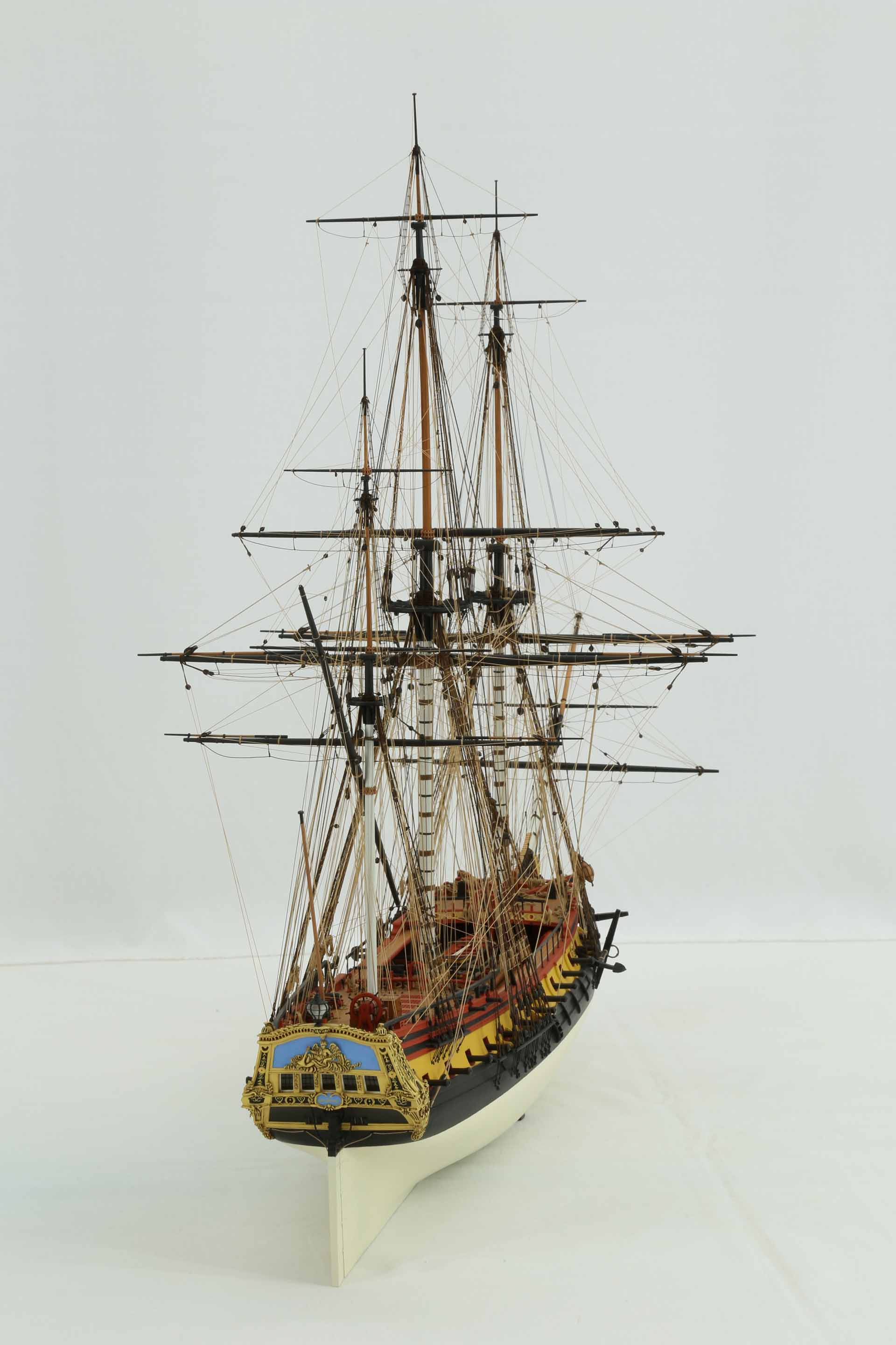 Photos Of Ship Model French Frigate La Renomm 233 E Of 1744 1