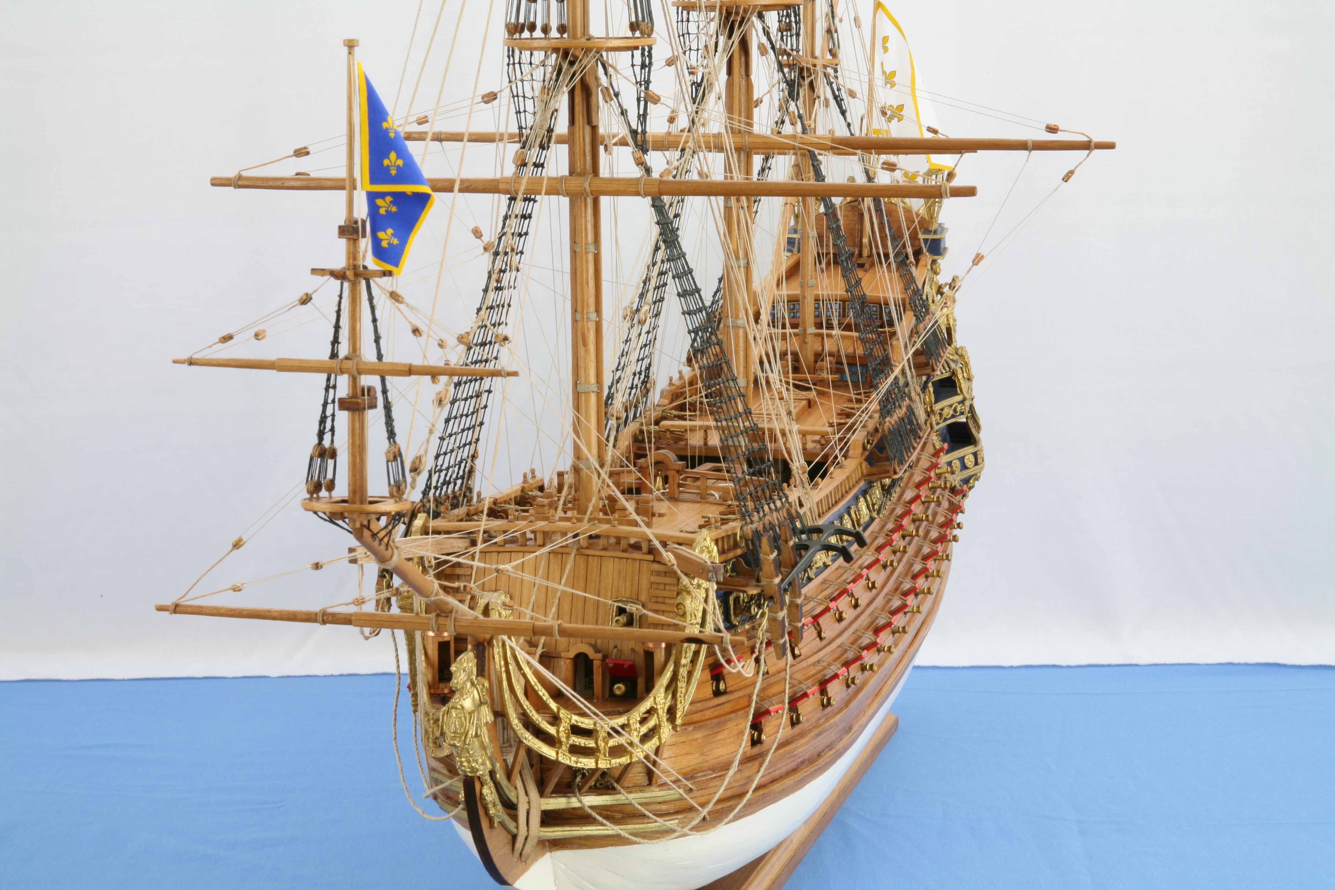 Photos Ship Model French Soleil Royal Of 1669 Views Of