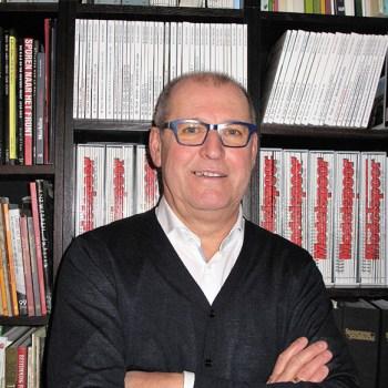 Hoofdredacteur Modelspoormagazine Guy Van Meroye