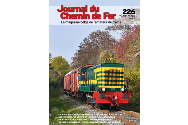 Cover Journal du Chemin de Fer 226