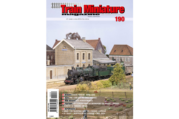 cover Train Miniature Magazine 190