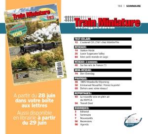 Sommaire Train Miniature Magazine 193
