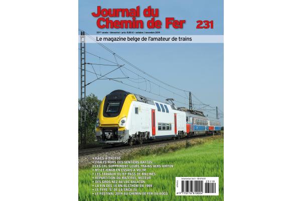 cover Journal du Chemin de Fer - édition 231