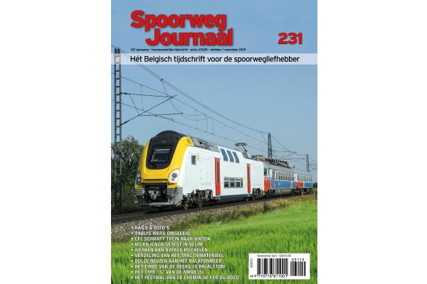 Cover Spoorwegjournaak 231 - editie 231
