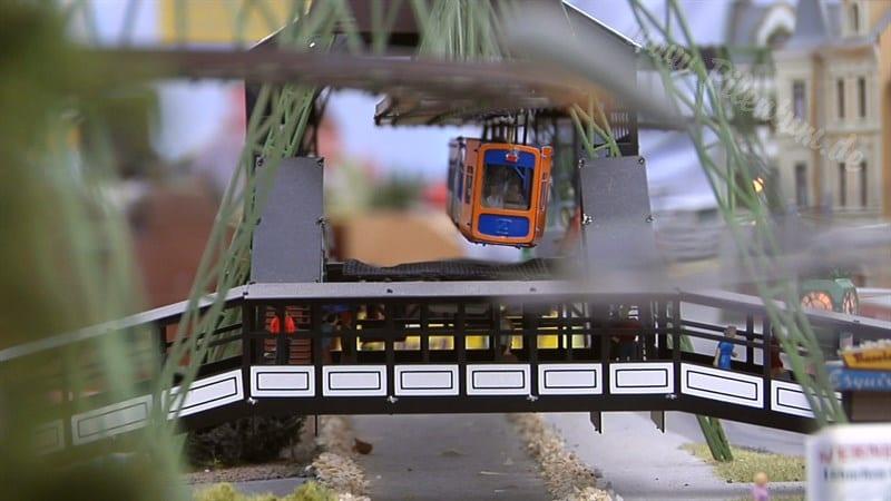 Wonderful Ho Scale Monorail Model Train