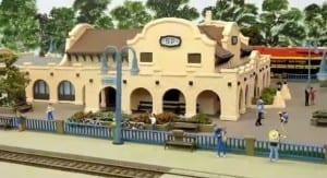 American HO Model Railroad Image 5
