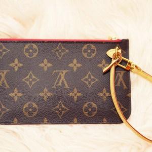 c378c7204563 Louis Vuitton Felicie Pouch Damier Azur Rose Ballerine – SOLD