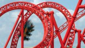 Visitors test ride new rollercoaster at German amusement park