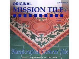 original mission tile interior design