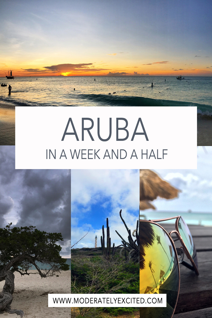 How to see everything worth seeing in Aruba in a week and a half.