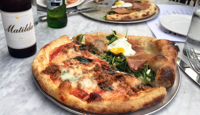 $10 Beer and Pizza Happy Hour at Nellcote in the West Loop