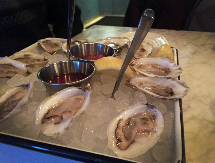 RM Champagne Oysters Happy Hour